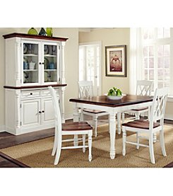 Home Styles® Rock River White Rectangular 5-pc. Dining Set