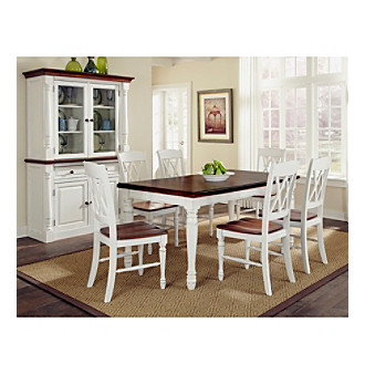 Home Styles® Rock River White Rectangular 7-pc. Dining S