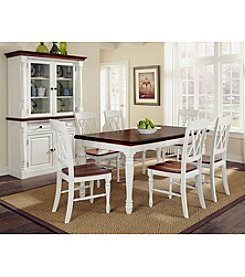 Home Styles® Rock River White Rectangular 7-pc. Dining Set