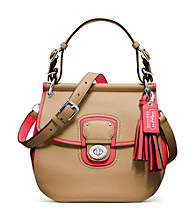 COACH LEGACY ARCHIVAL 2-TONE LEATHER WILLIS