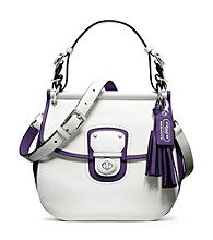 COACH LEGACY ARCHIVAL 2- TONE LEATHER WILLIS