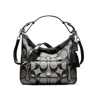 COACH LEGACY SIGNATURE COURTENAY HOBO
