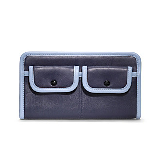 COACH LEGACY ARCHIVE TWO TONE ZIPPY WALLET