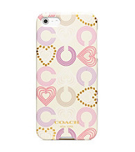 COACH HEART MULTI IPHONE 5 CASE