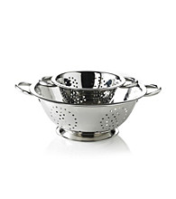 LivingQuarters Set of 2 Stainless Steel Colanders