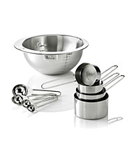 LivingQuarters 9-pc. Stainless Steel Measuring Set