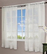 Design Decor Voile Rod Pocket Panel