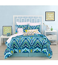 Blue Peacock Bedding Collection by Trina Turk Residential