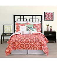 Trellis Coral Bedding Collection by Trina Turk Residential