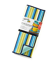 Fiesta® Dinnerware Stripe Microfiber Dish Drying Mat