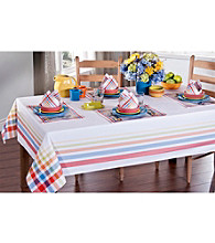 Fiesta® Dinnerware Plaid Table Linens