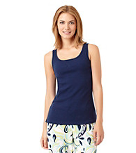 Jockey® Knit Tank Top - Navy