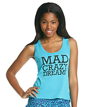Steve Madden Mad Crazy Dreams Tank - Turquoise