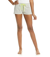 Steve Madden French Terry Shorts - Heather Grey