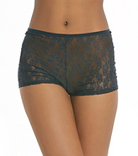 Steve Madden Lace Boy Shorts - Twilight Blue