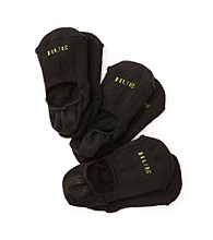 HUE® 3-pk. Air Cushion Liner Socks