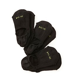HUE® Air Cushion Liner Socks Three-Pack