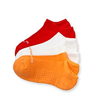 HUE® 3-pk. Firefly Air No Show Socks