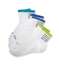 HUE® 3-pk. Air Mini Crew Socks - Bold Stripe