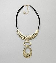 Erica Lyons® Goldtone Pendant Necklace
