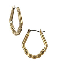 Nine West Vintage America Collection® Small Goldtone Hoop Earrings