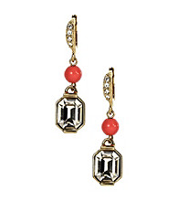 Givenchy® Coral Drop Earrings