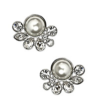 Givenchy® Pearl Button Earrings