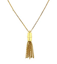 Vince Camuto™ Goldtone Tassel Necklace