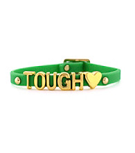 BCBGeneration™ Goldtone Tough Friendship Affirmation Bracelet