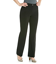 Rafaella® Black Five Pocket Ponte Pant