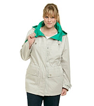 Mackintosh Plus Size Anorak Poplin Coat