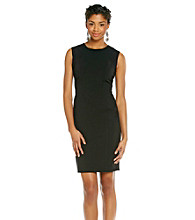 Calvin Klein Woven Sleeveless Scoopneck Dress
