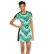Calvin Klein Printed Tee Shirt Dress