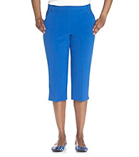 Briggs New York® Perfect Fit Traditional Waistband with Stretch Capri