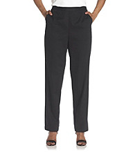 Breckenridge® Petites' Slash Pocket Twill Pull-On Pant