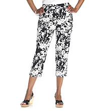 Studio Works® Floral Cropped Pant