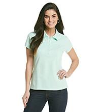 Gloria Vanderbilt® Solid Polo