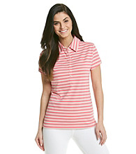 Gloria Vanderbilt® Stripe Polo