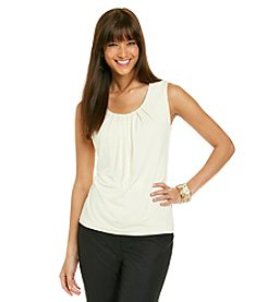 Le Suit® Pleat Neck Cami