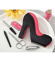 Kate Aspen Pedi Pumps Four-Piece High-Heel Pedicure Kit