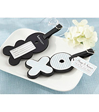 Kate Aspen Hugs and Kisses From Mr. & Mrs. Love-Filled Luggage Tag