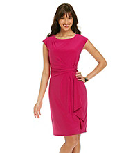 Ronni Nicole® Twist Knot Waist Knit Dress