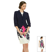 Jessica Howard® Floral Print Dress With Jacket