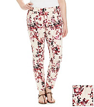 DKNY JEANS® Plus Size Fire Flower Tie-Dye Printed Jegging