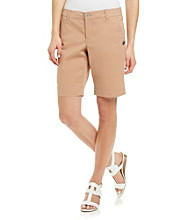 Nine West Vintage America Collection® Petites' Finley Twill Bermuda