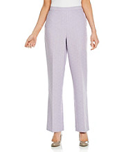 Alfred Dunner® Petites' Stretch Waistband Short Pants