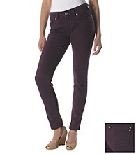 Silver Jeans Co. Suki Curvy Fit Mid-Rise Colored Skinny Jeans