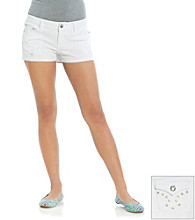 Blue Spice® Juniors' Bling Back Pocket Shorts
