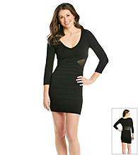 Guess Cut Out Sweater Dress