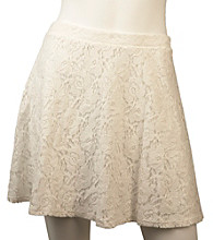 A. Byer Juniors' All Over Lace Skirt